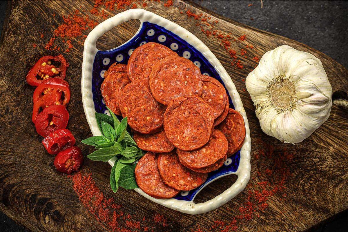 Arab peperoni wołowe